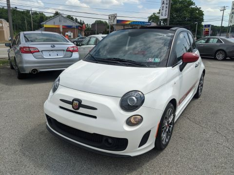Pre-Owned 2015 FIAT 500c Abarth FWD Convertible