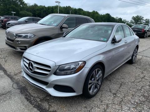 Pre-Owned 2017 Mercedes-Benz C 300 C 300 AWD 4MATIC 4dr Car