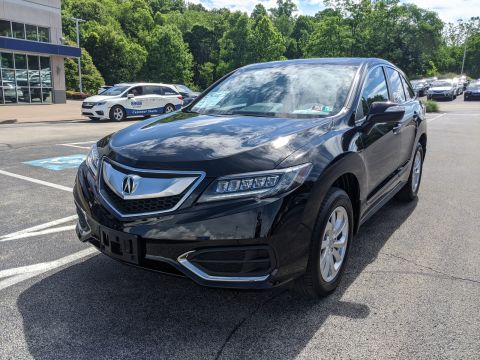 Pre-Owned 2018 Acura RDX w/Technology Pkg AWD Sport Utility